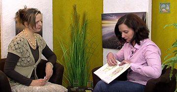 Antje Tittelmeier im Expertengespräch mit der Fußreflexzonentherapeutin Martina Ludwig.
