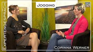 """Antje Tittelmeier und Corinna Werner im GesundheitsTipp.TV-Expertengespräch zum Thema """"Jogging"""""""