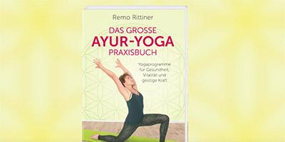 """Buchcover """"Das große AYUR-YOGA Praxisbuch"""""""
