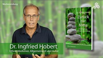 """Dr. Ingfried Hobert mit seinem Buch """"Zurück zur Mitte"""""""