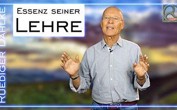 Ruediger Dahlke Essenz seiner Lehre