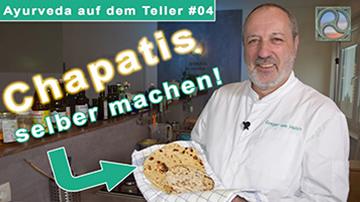 Gregor von Holdt zeigt Chapati