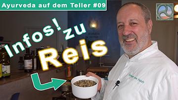 Gregor von Holdt zeigt Reis