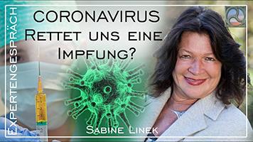 """Sabine Linek zum Thema """"Coronavirus - Rettet uns eine Impfung?"""""""