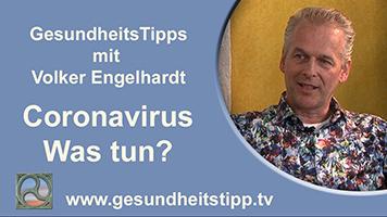 Volker Engelhardt gibt Tipps zum Coronavirus