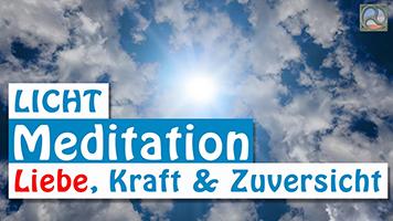 Sonne durch Wolken - Lichtmeditation: Liebe, Kraft & Zuversicht