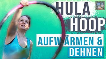 Antje Tittelmeier mit Hula Hoop-Reifen